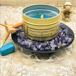 Ginger Mint | Soy Candle | Chakra Aromatherapy